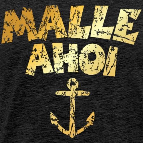 Malle Ahoi Mallorca Segel Design (Vintage Gold)