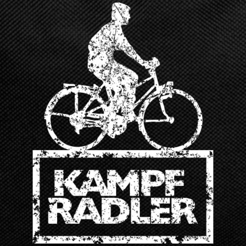 Kampfradler Biker Fahrradfahrer (Vintage Weiß)