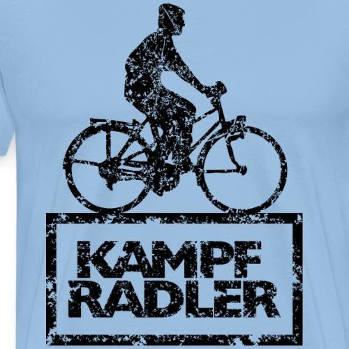 Kampfradler Biker Fahrradfahrer (Vintage Schwarz)