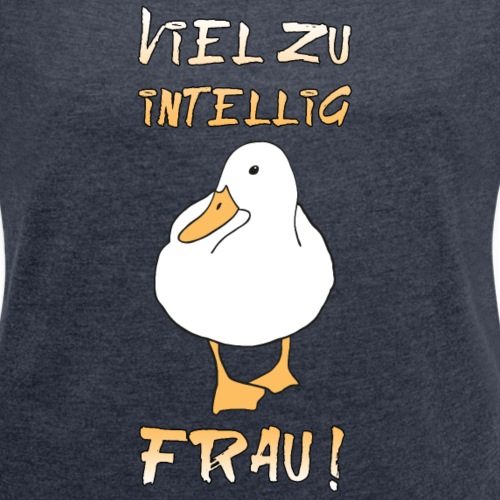intelligente Frau schlaue Ente clever MINT