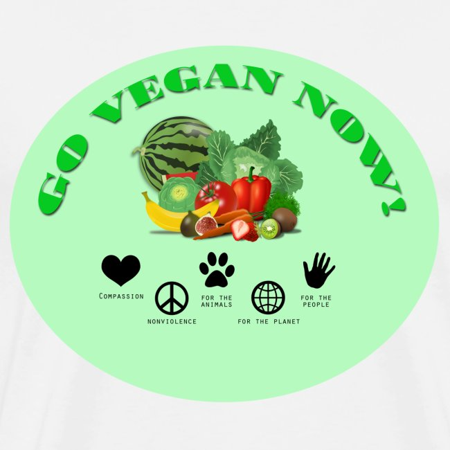 Go vegan now!