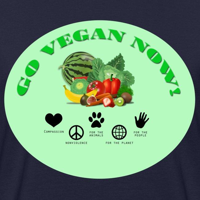Go vegan now!