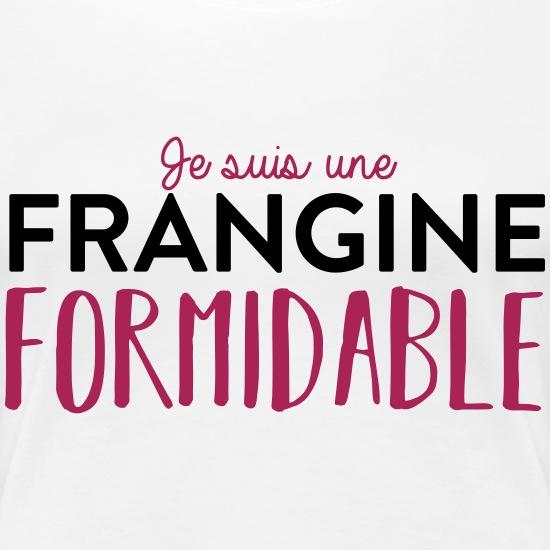 Tee Shirt Frangine Formidable T Shirt Premium Femme Tshirt