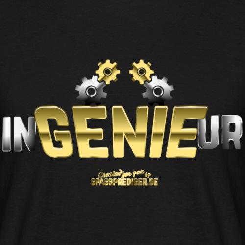 Ingenieur T-Shirt Genie - Geschenkidee