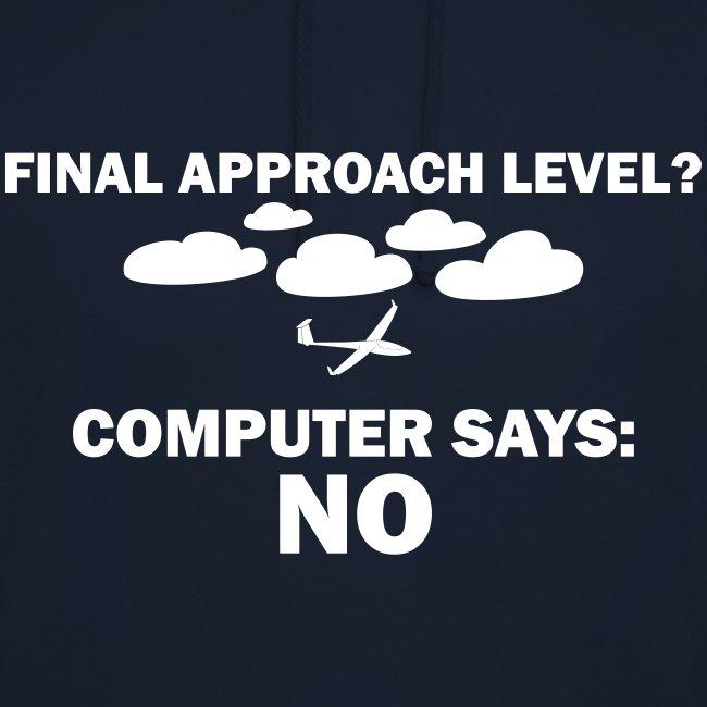 glider pilot - computer says no