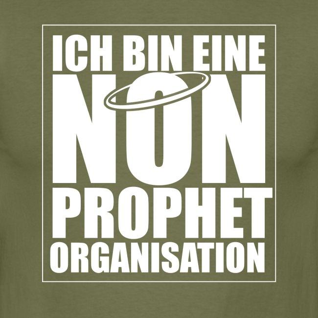 ICH BIN EINE NON-PROPHET ORGANISATION