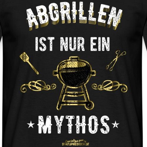 "Grill T Shirt ""Abgrillen"" - Geschenkidee!"