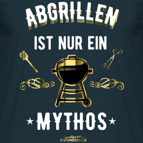 """Lustiges Grill T Shirt """"Abgrillen""""- Geschenkidee"""