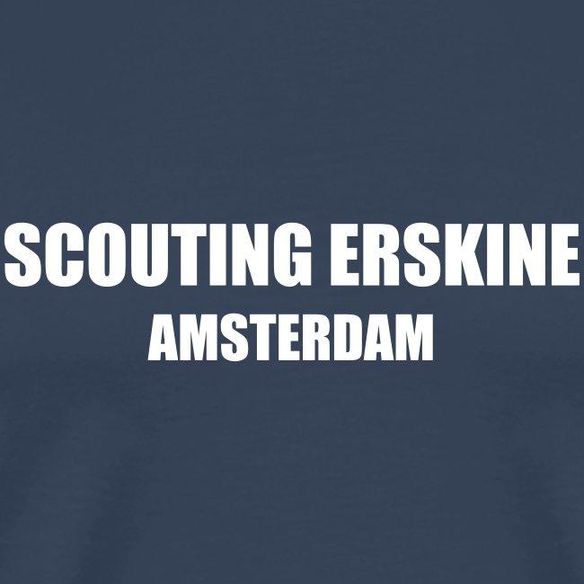 Scouting Erskine - Navy T-shirt (v)