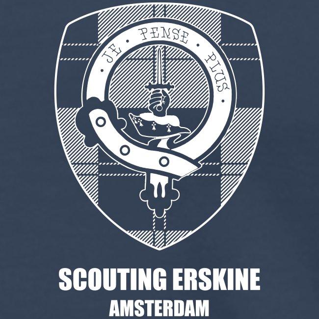 Scouting Erskine - Navy T-shirt (m/v)