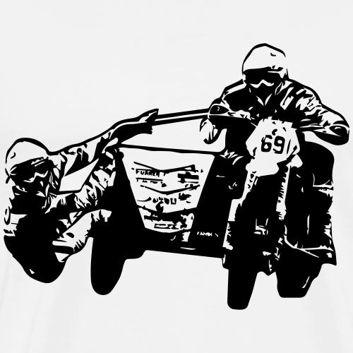 Motocross mit Beiwagen