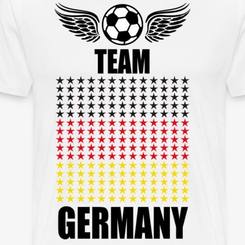 48 Team Germany Fußball Deutschland Fahne Sterne