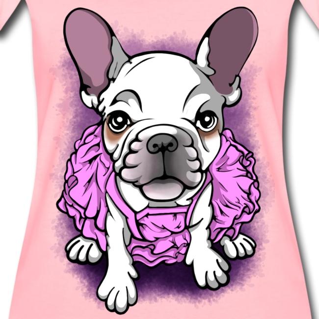 French Bull Dog Ballerina
