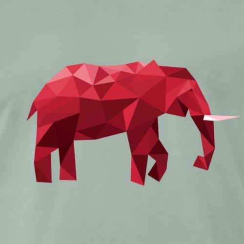 Elefant Vektor Rot