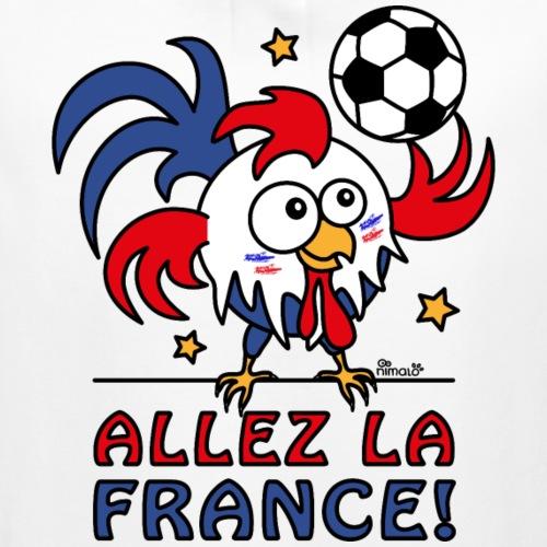 Coq Gaulois Foot Allez La France