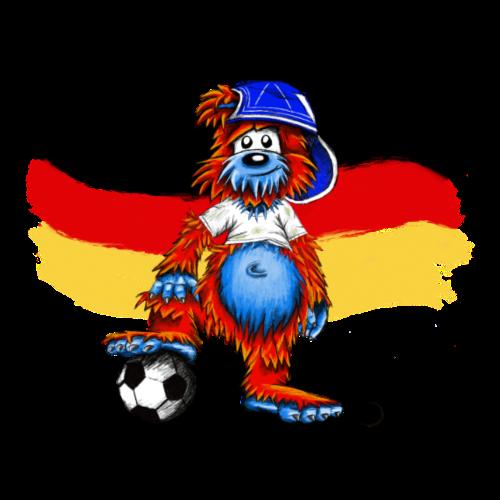 Fußball-Bär-Deutschland