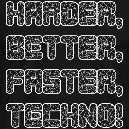 Harder Better Faster Techno 1