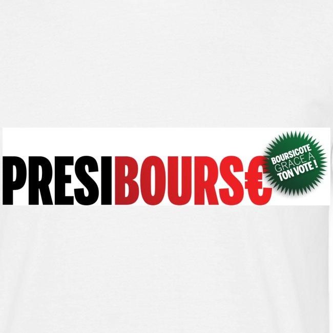 Tshirt PrésiBours€