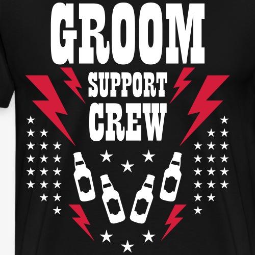 101 Groom Bräutigam Support Crew Bier Blitze