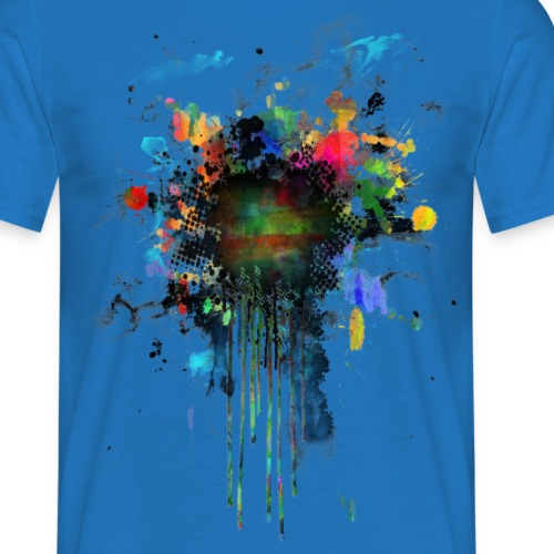 Colorful Splatter Point
