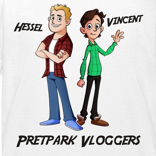 Hessel en Vincent Shirt (KIDS 2 T/M 8 JAAR)