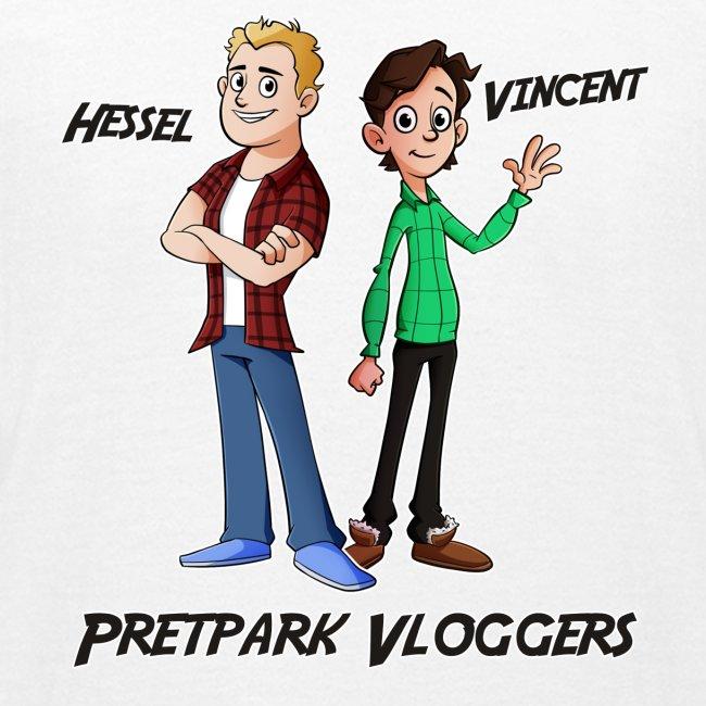Hessel en Vincent Shirt (KIDS 9 T/M 14 JAAR)