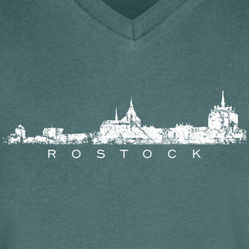 Rostock Skyline (Vintage Weiß)
