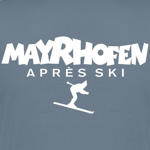Mayrhofen Après-Ski Skifahrer