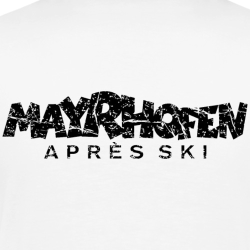 Mayrhofen Après-Ski (Vintage Schwarz)