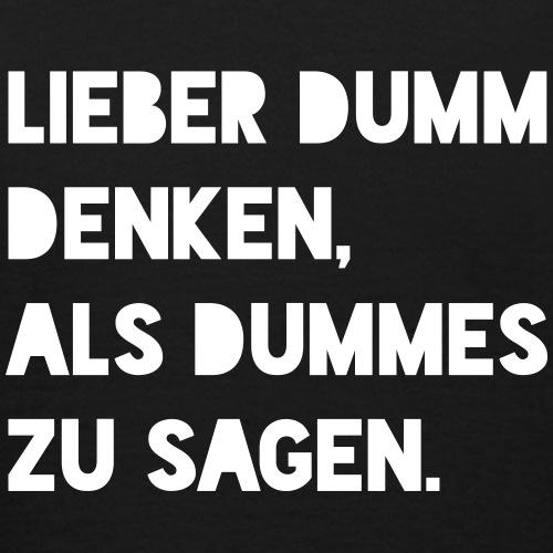 Dumm (Spruch)