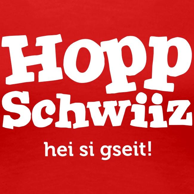 Hopp Schwiiz hei si gseit!