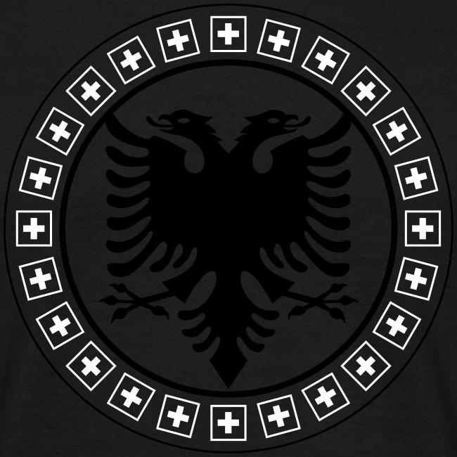 Männer T-Shirt Albanien Schweiz