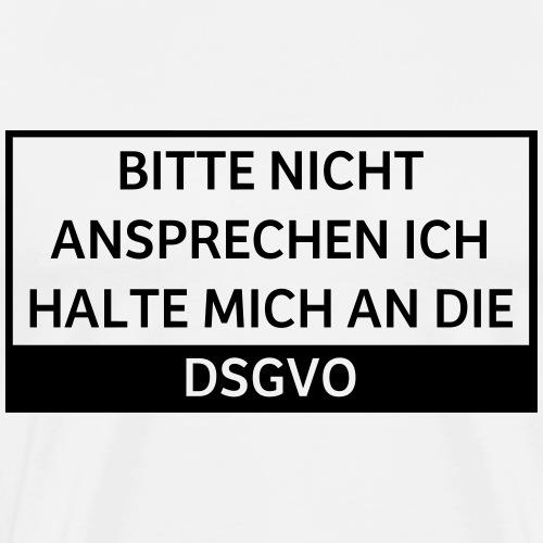 Bitte nicht ansprechen DSGVO