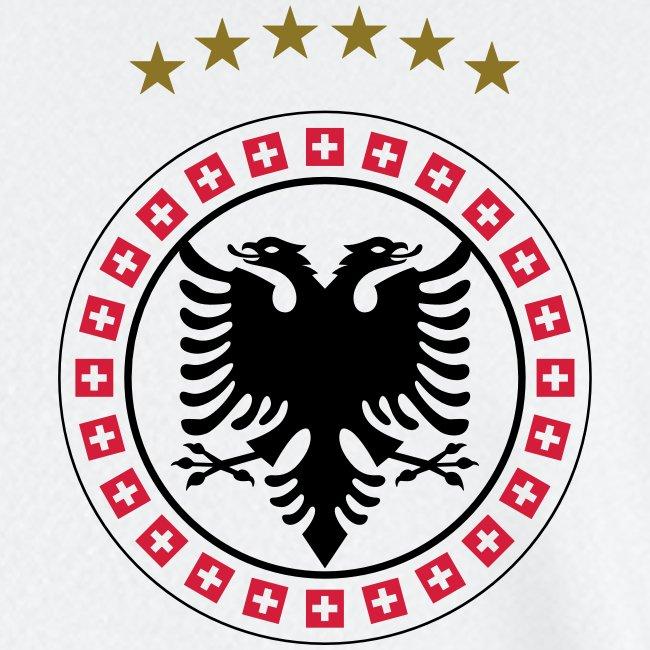 Männer Fußball-Trikot Albanien Schweiz