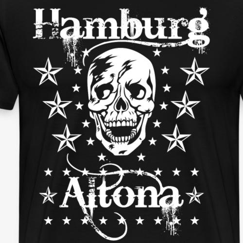 48 Hamburg Stadtteil Altona Skull Totenkopf