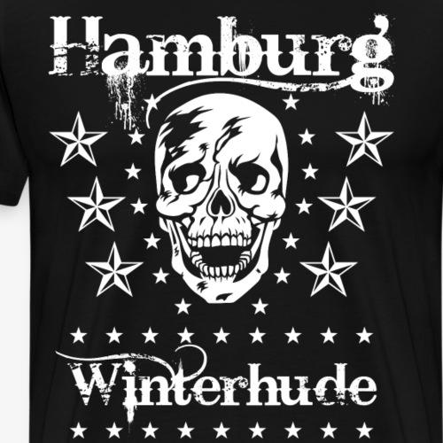 49 Hamburg Stadtteil Winterhude Skull Totenkopf