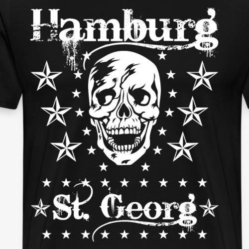 53 Hamburg Stadtteile Skull Totenkopf
