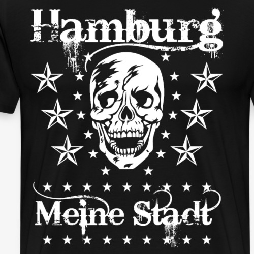 62 Hamburg meine Stadt Skull Totenkopf