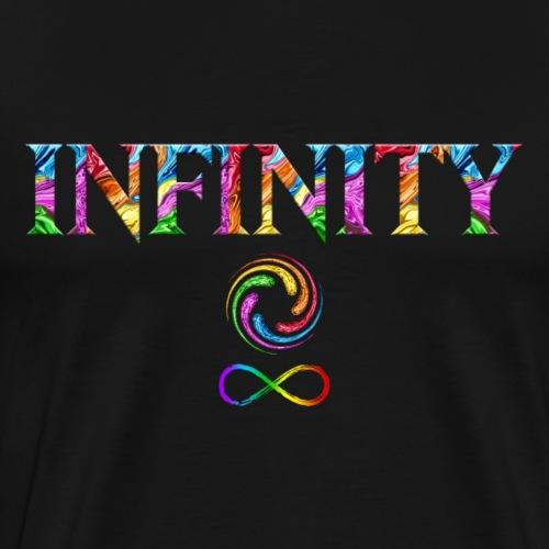 Infinity Wirbel Regenbogen Unendlichkeit Steine