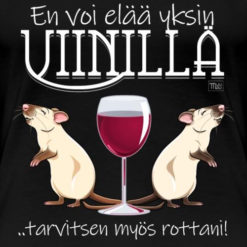 Yksin Viinillä Rottani II