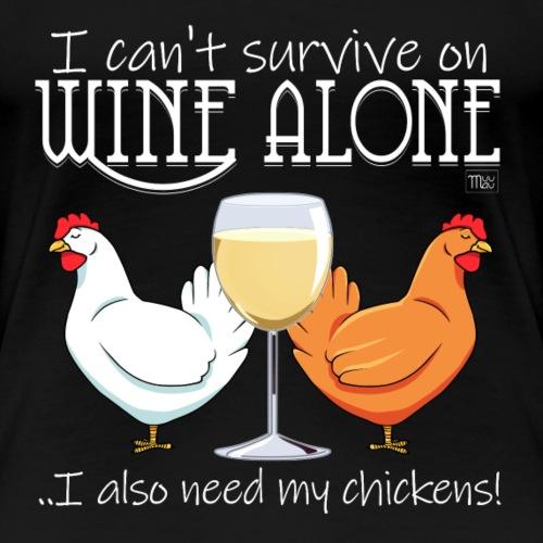 Wine Alone Chickens Ii