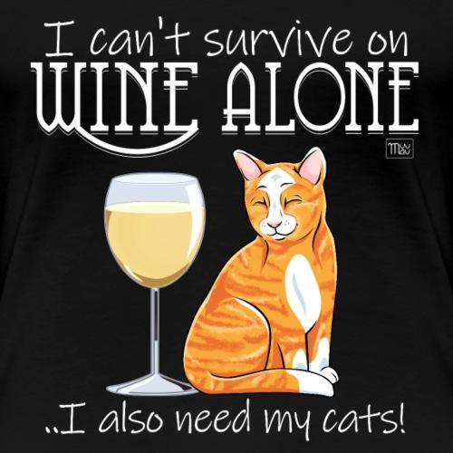 Wine Alone Cats II
