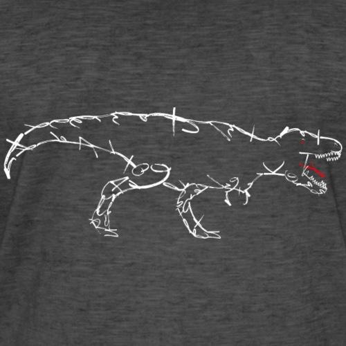 Dinosaurier-T-REX-weiß