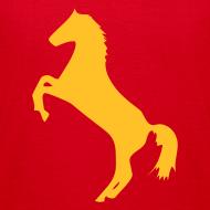 Motiv ~ Motive-Kinder-Shirt, Pferdchen