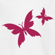 Motiv ~ Motive-Kinder-Shirt, Schmetterling