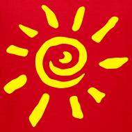Motiv ~ Motive-Kinder-Shirt, Sonne