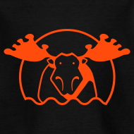 Motiv ~ Motive-Kinder-Shirt, Elch