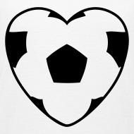 Motiv ~ Motive-Kinder-Shirt, Fussballherz