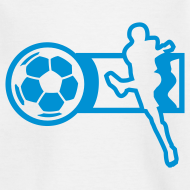 Motiv ~ Motive-Kinder-Shirt, Fussball