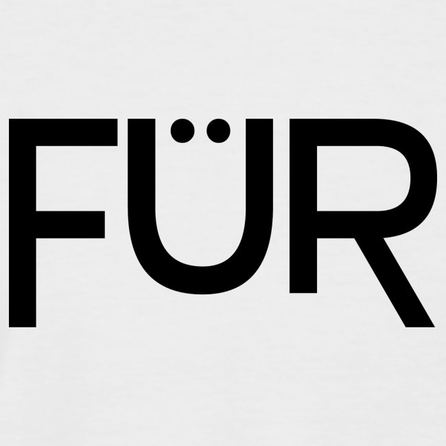 FÜR Magazine Men's Shortsleeve Baseballshirt